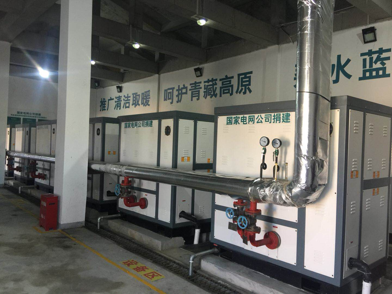 青海玛多县藏民族中学电采暖国家示范工程